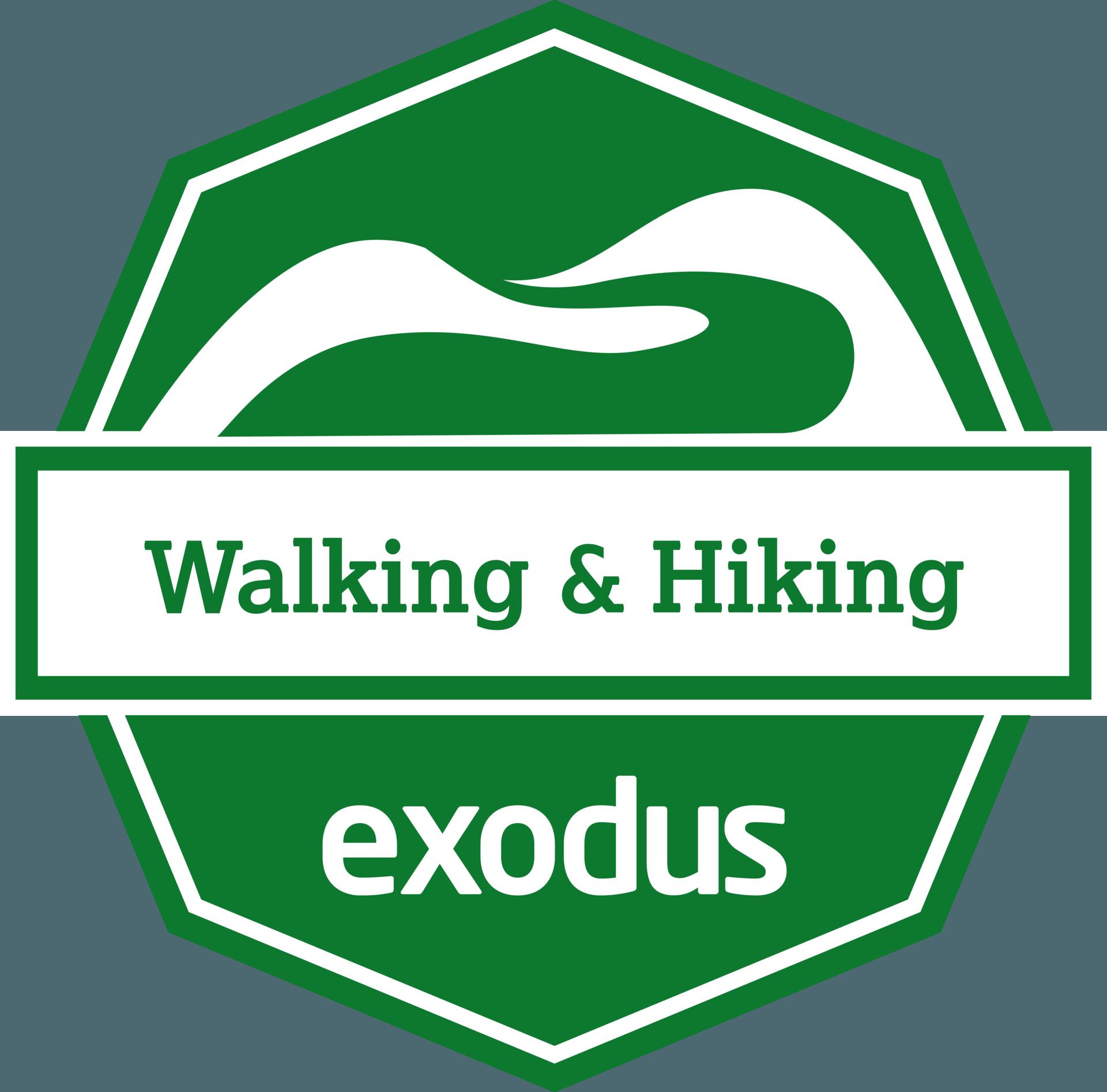 Exodus Walking & Hiking Badge
