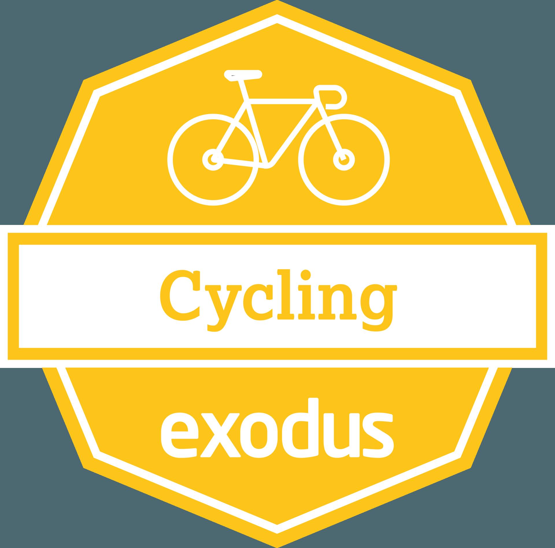 Exodus Cycling Badge