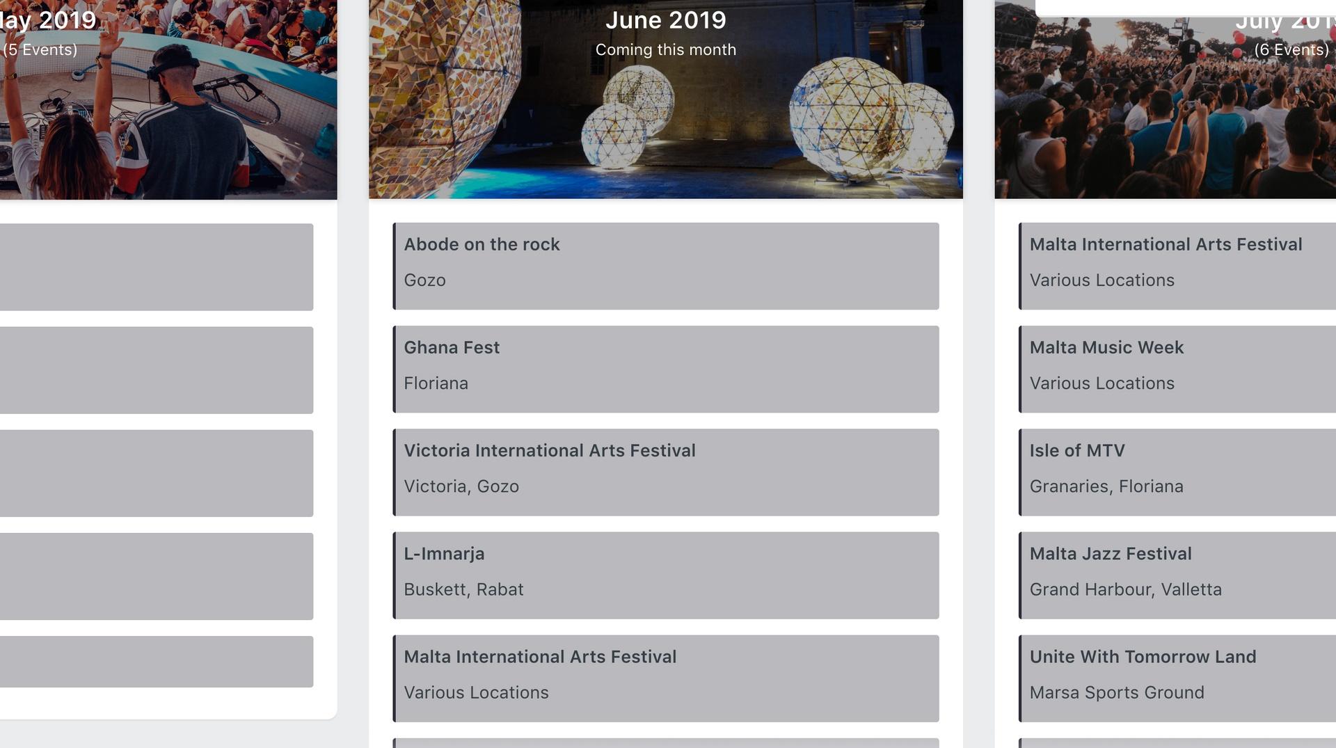 <p>Annual Events in Malta</p>